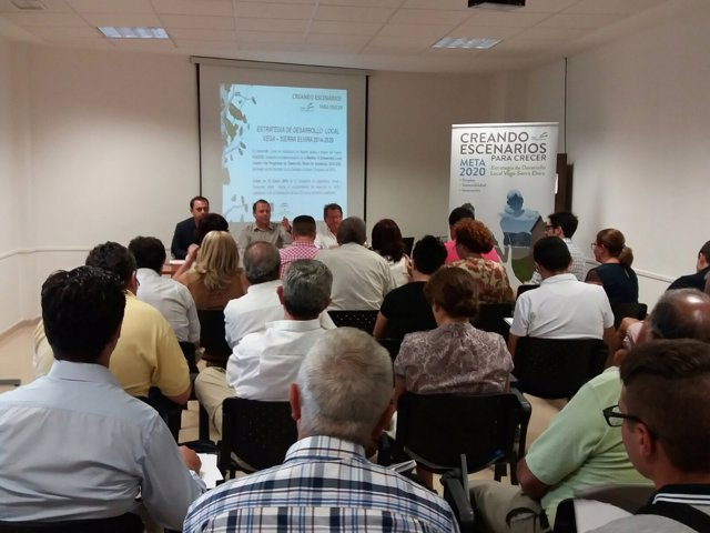 Presentación de los fondos de desarrollo local con Promovega