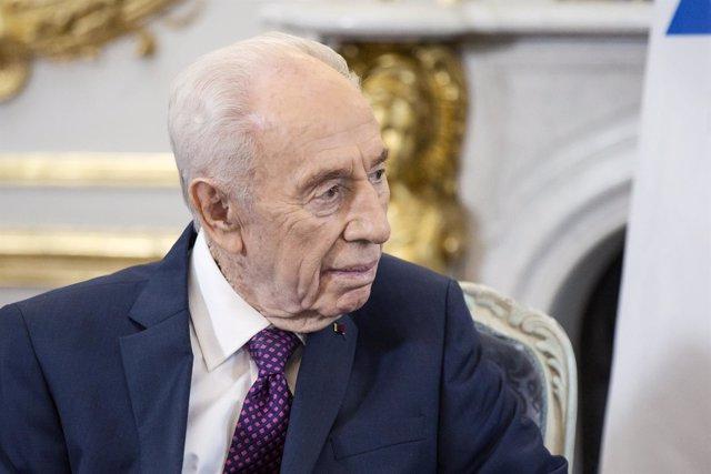 El ex presidente israelí Shimon Peres