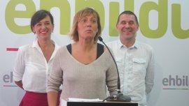 """Bildu insiste en un pacto con PNV y Podemos para hacer """"de la soberanía el eje fundamental"""" en Euskadi"""