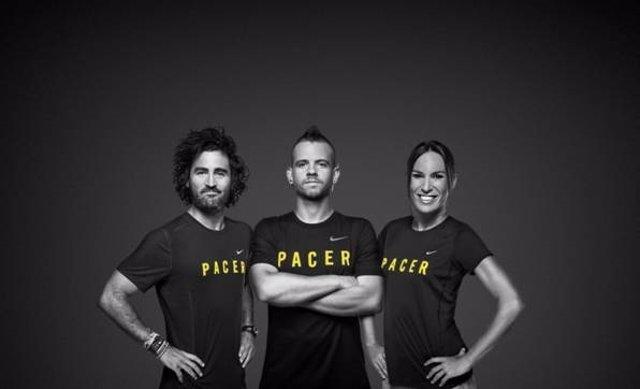 Dabiz Muñoz, Raúl Gómez y Paula Carrera Butragueño, 'liebres' en la Carrera Paula ac1490