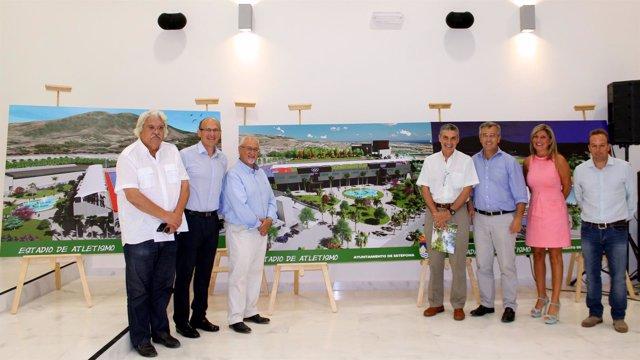 El Ayuntamiento Licita La Obra Del Estadio De Atletismo Y Del Parking Para Mil P