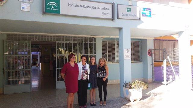 Inauguración del curso en Secundaria en el IES Alhadra
