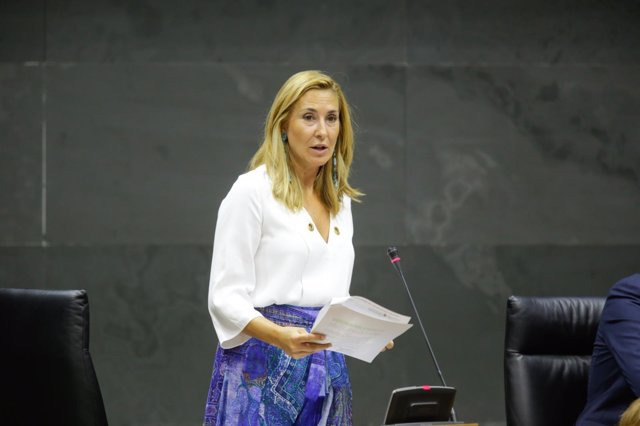 La portavoz del PPN, Ana Beltrán.