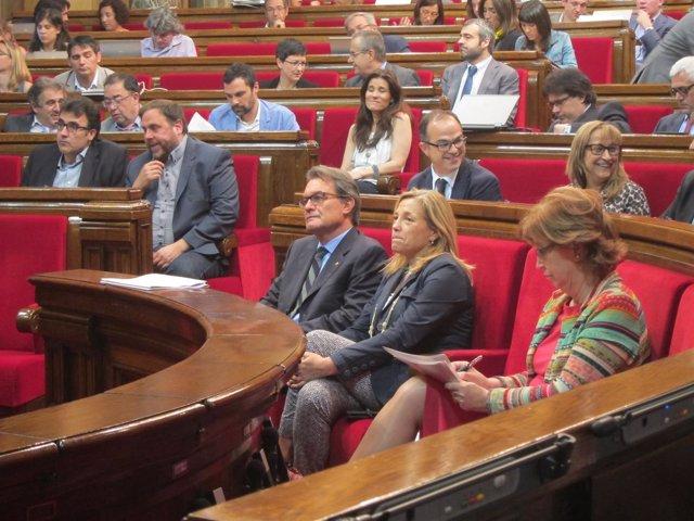 Expte.Artur Mas, exvicepta.J.Ortega, exconsellera I.Rigau (Archivo)
