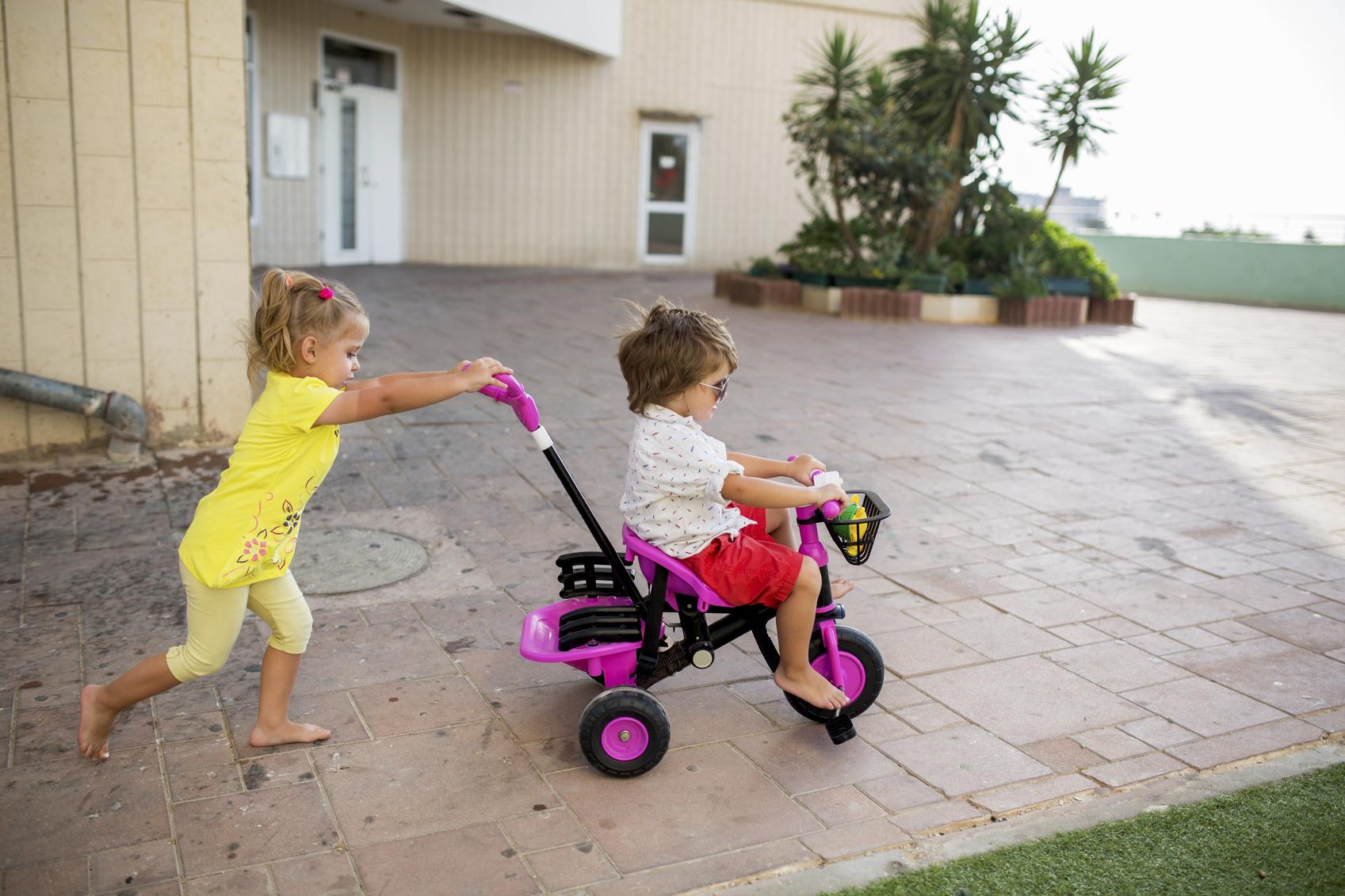 5 beneficios del triciclo para los niños