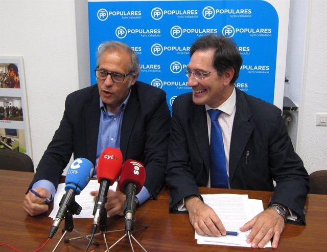 José Antonio Martínez Bermejo y Jesús Enríquez, del PP