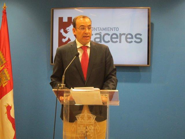 Rafael Mateos, portavoz del Gobierno local de Cáceres