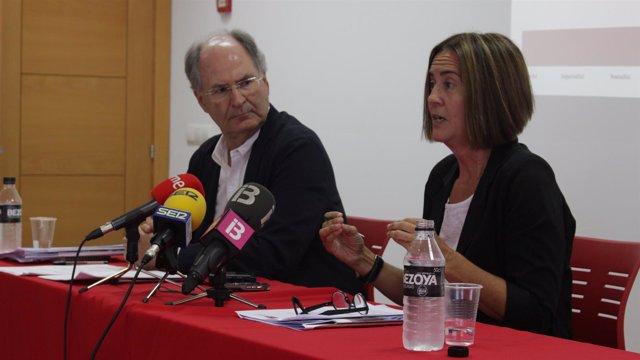 Presentación de la memoria 2015 de Creu Roja Balears