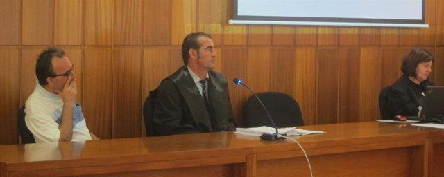 El acusado de matar a su vecino en Santomera, Pedro M.P.