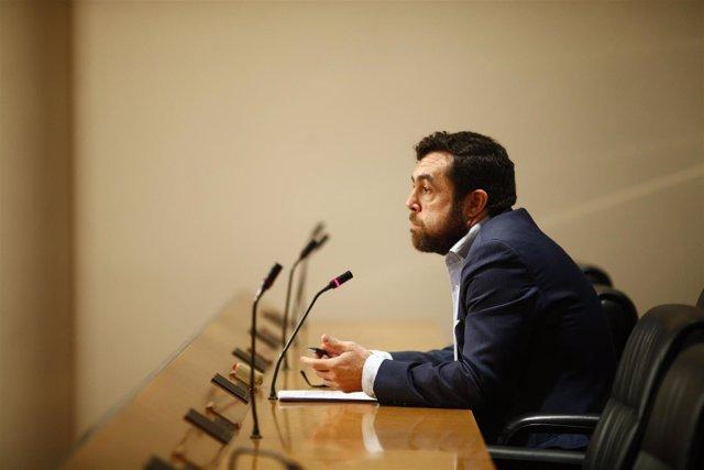 El secretario general del Grupo Parlamentario Ciudadanos en el Congreso