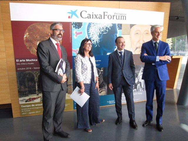 Caixaforum Zaragoza ha presentado hoy sus propuestas para esta temporada