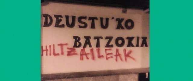 Pintadas en el batzoki