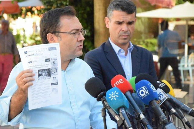 PSOE De Andalucía: AUDIOS Y FOTO De Miguel Ángel Heredia En Marbella 15.09.16