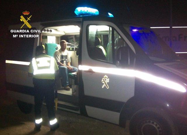 La Guardia Civil Intercepta Al Conductor De Un Camión Articulado De Gran Tonelaj