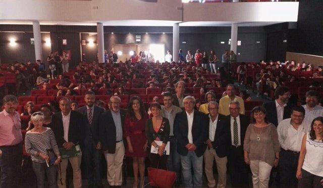Inauguración oficial del curso de ESO, Bachiller, FP, Música e Idiomas en Jaén.