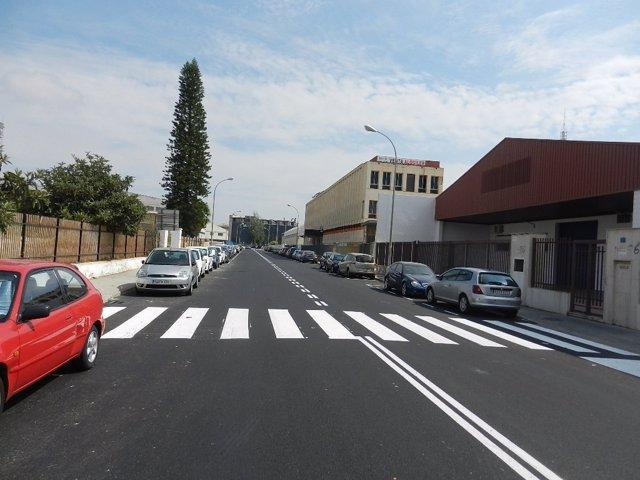 Trabajos de asfaltado en Vara de Quart