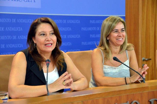 Crespo y Ruiz Sillero en rueda de prensa
