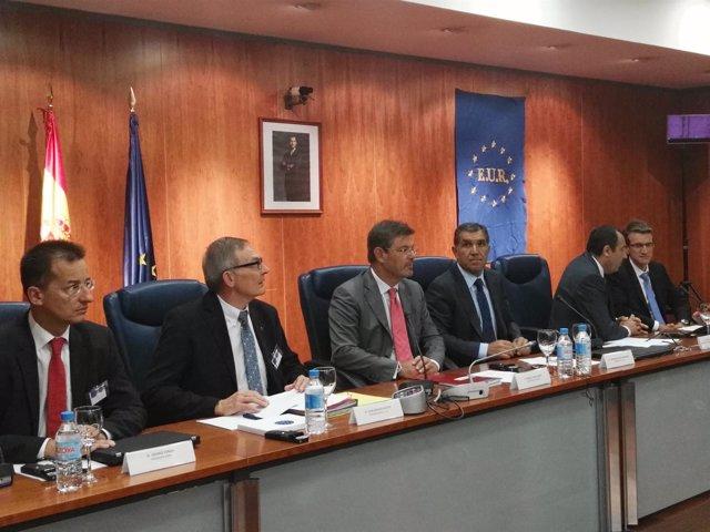 Ministro de Justicia Rafael Catalá. Congreso europeo secretarios