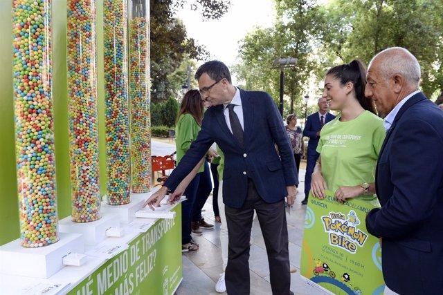 El alcalde José Ballesta presenta la Semana de la Movilidad