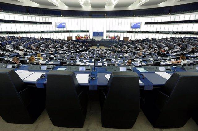 Pleno del Parlamento Europeo en Estrasburgo