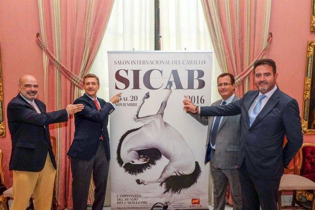Firma convenio Fibes y Ancce para Sicab.