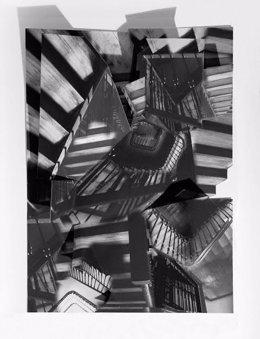 Obra de Juan Moro que se puede ver en la sala El Brocense de Cáceres
