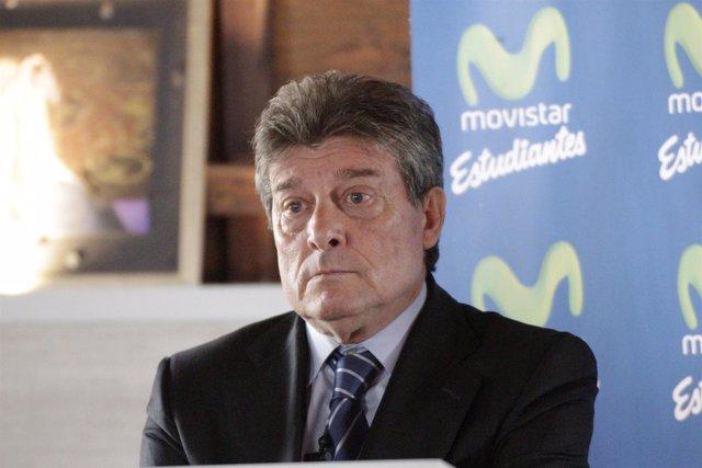 Fernando Galindo en un desayuno informativo en la Fundación Pons