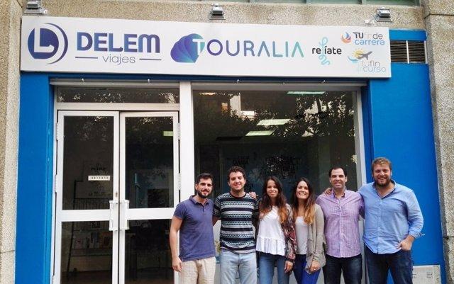 Inauguración Delem Viajes.