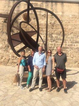 Viaje de prensa a Palma de periodistas internacionales