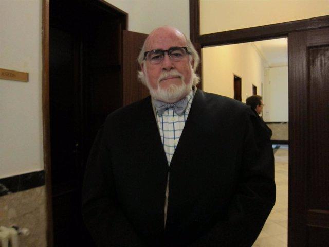 Juan Atonio Gozalo, abogado de Manuel M.M, principal inculpado.