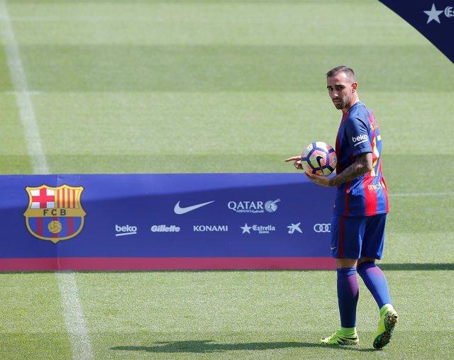 Paco Alcácer, jugador del FC Barcelona