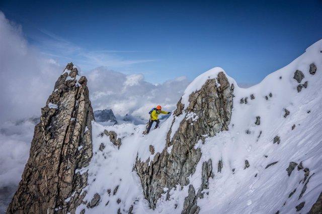 Kilian Jornet, deportista extremo en una expedición al Everest