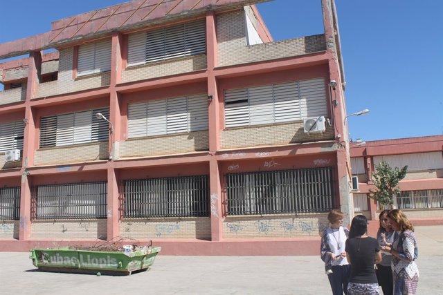 Visita al colegio Pedro Garfías.