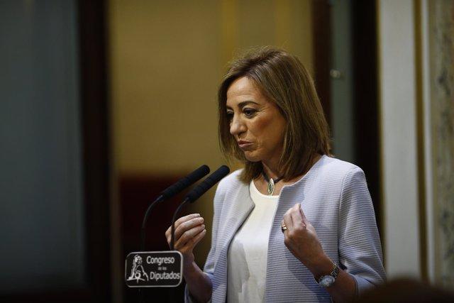 Carme Chacón en el Congreso