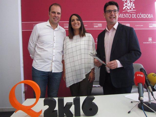 Miguel Ángel Arroyo, Carmen González y Pedro García