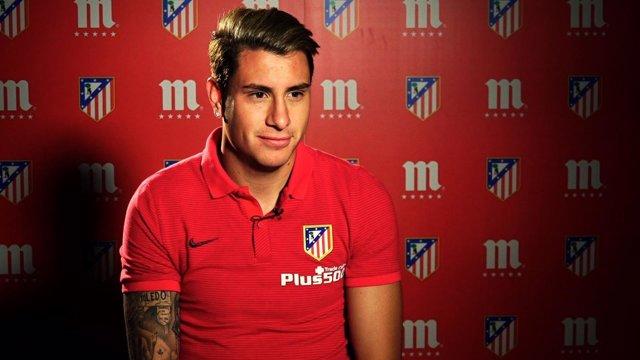 José María Giménez, jugador del Atlético de Madrid