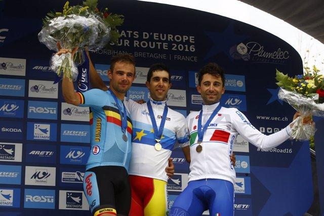 Jonathan Castroviejo, campeón de Europa de contrarreloj