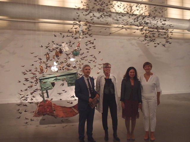 Presentación esculturas Pamen Pereira