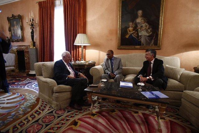 El ministro de Asuntos Exteriores y de Cooperación, José Manuel García Margallo