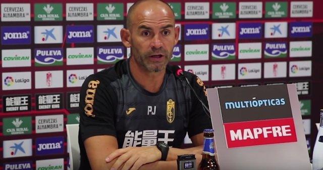 Paco Jémez, entrenador del Granada CF