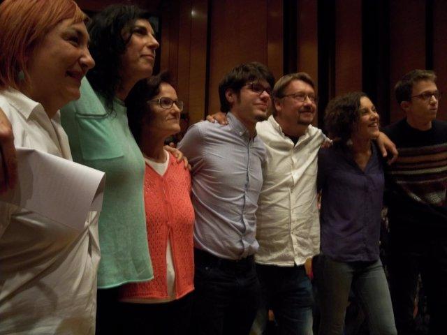 Mitin de Podemos