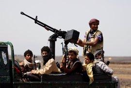 Los rebeldes huthis estudian la propuesta estadounidense para una tregua en Yemen