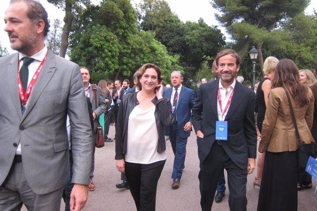 Ada Colau en el acto 'Hola Barcelona'