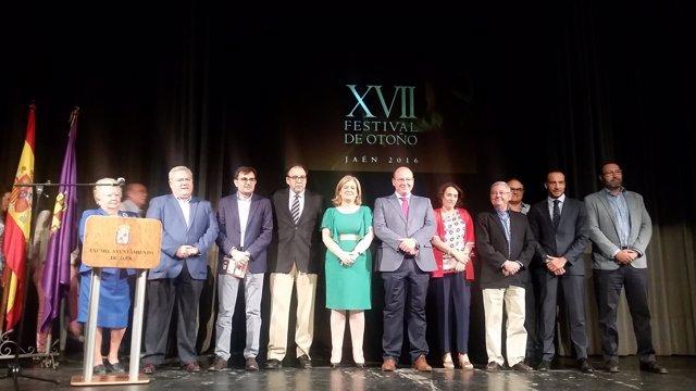 Presentación del Festival de Otoño de Jaén