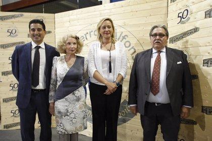 Gastón destaca la apuesta por la innovación y la competitividad de Hierros Alfonso