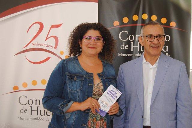 Eva Salazar y José Antonio García presentan el Centro de Información a la Mujer