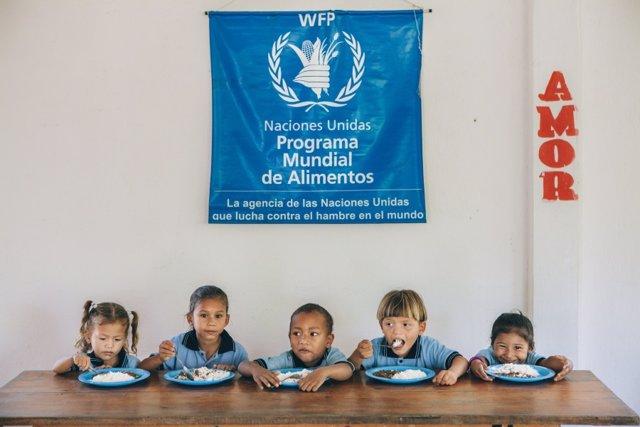 Comidas escolares en Colombia