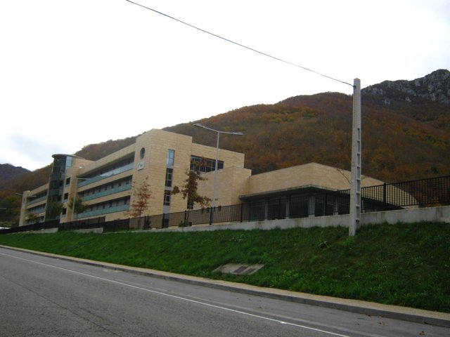 Residencia del Montepío de la Minería en Felechosa