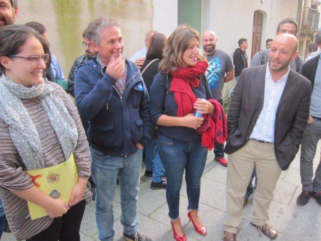 Mitin Viveiro En Marea con Luís Villares