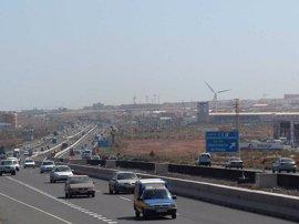 Fallece atropellado cuando intentaba cruzar por la Autopista del Sur de Gran Canaria